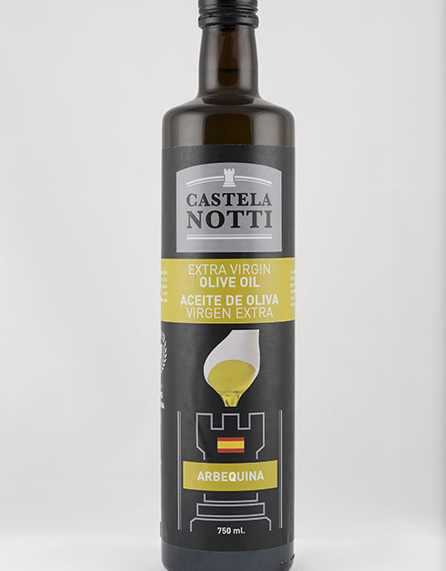 bottle arbequina 750 ml